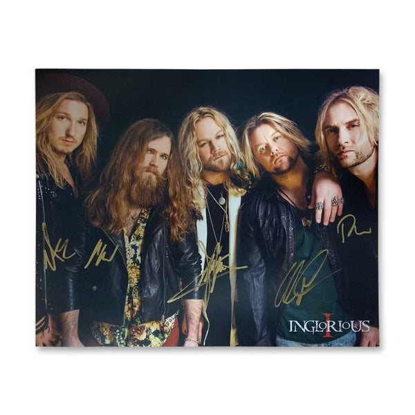 INGLORIOUS SIGNED PHOTO