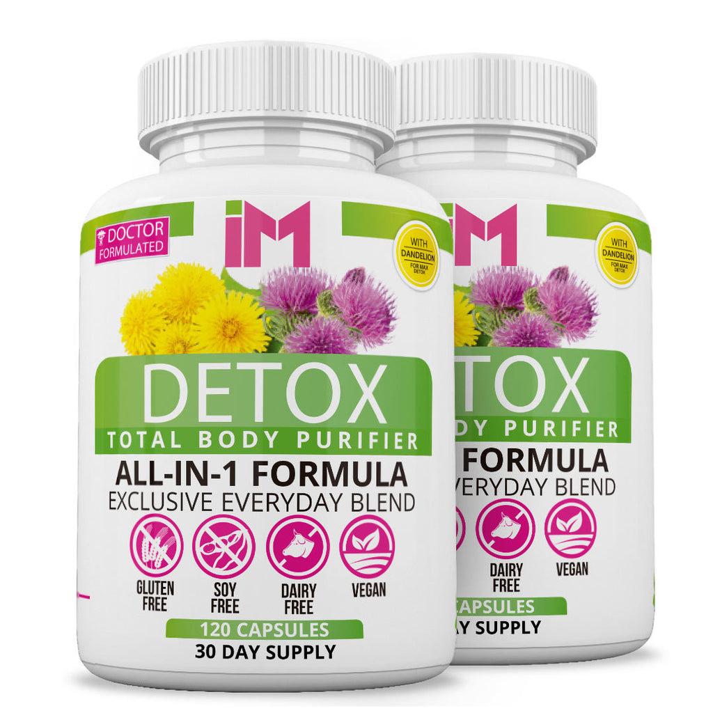 IM Detox Body Purifier - 2 Bottles