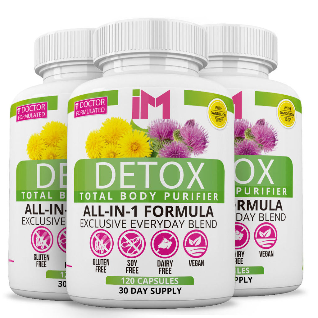 IM Detox Body Purifier - 3 Bottles