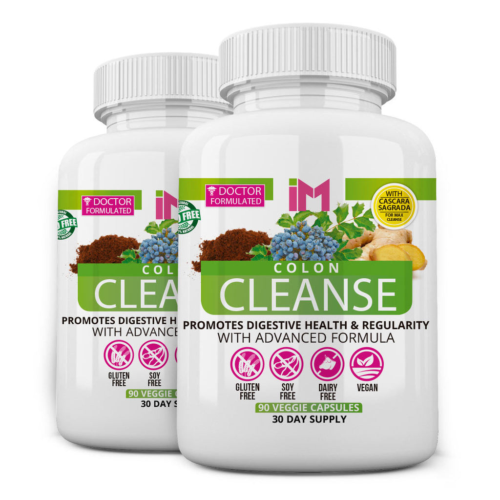 IM Colon Intestinal Cleanser - 2 bottles