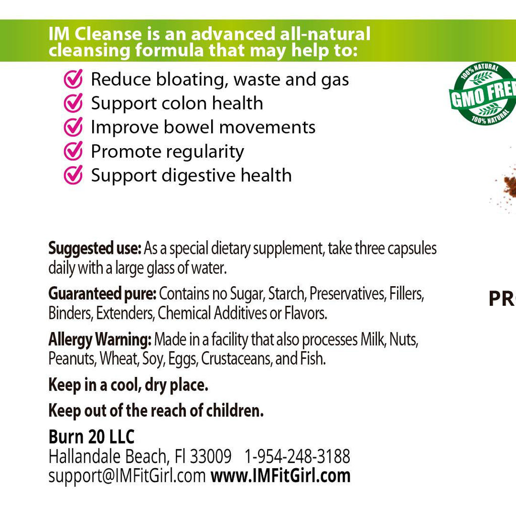 IM Colon Intestinal Cleanser - 3 Bottles