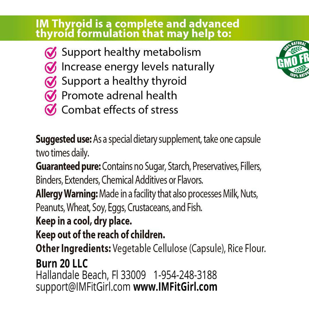 IM Thyroid Adrenal Support - 2 Bottles