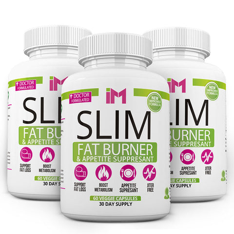 IM Slim Fat Burner & Appetite Suppresant - 3 Bottles OTO