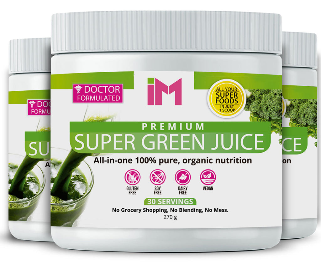 IM Premium Super Green Juice - 3 Bottles