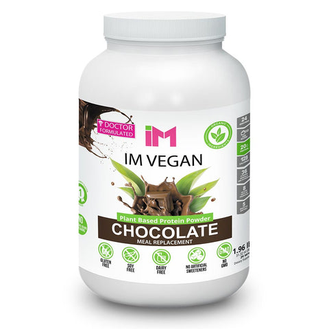 IM Vegan Plant Based Protein Powder - 3 Bottles