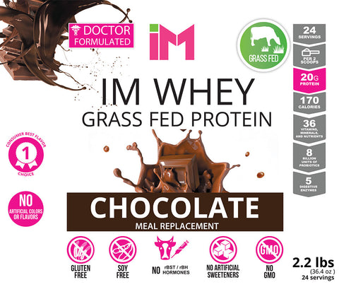 IM Whey Grass Fed Protein