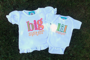 Big Sister/Little Mister Set