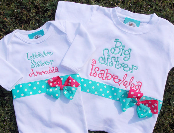 Big Sister/Little Sister Gown Set
