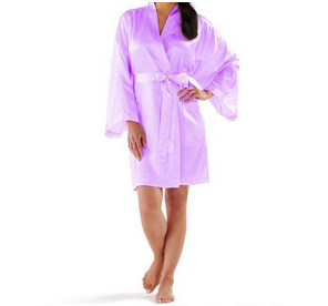 Monogrammed Satin Robe/ Bridesmaid's Robe