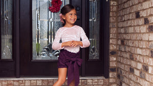 Plum High Waisted Bloomers