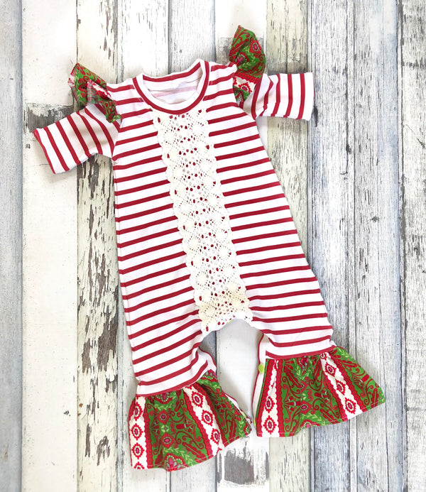 Joy to the World Romper