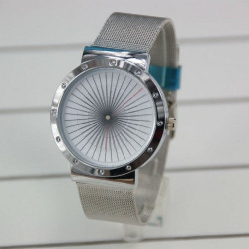 Watch Unique Design Whirl Quartz Hours Relogio Masculino