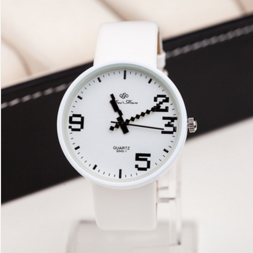 Retro Watch Geek Woman Wristwatch