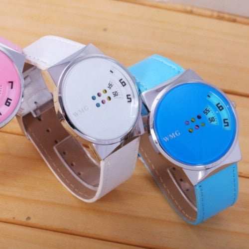 Quartz Clock Leather Strap Women Watches