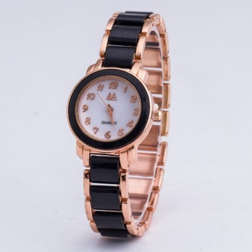 Unique Design Golden Bracelet Dress Wristwatches