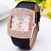 Watch Super Multi Rhinestone Unique Tonneau Luxury