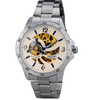 Mens Watches Skeleton Luxury Fashion Casual Wristwatch