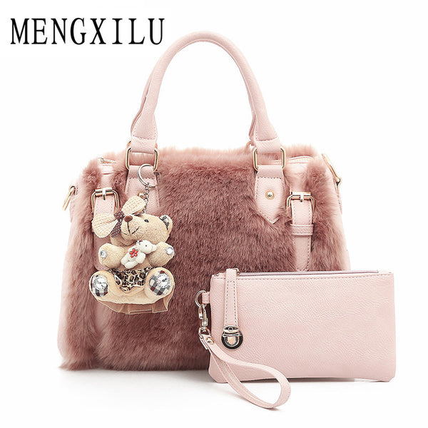 Fur Luxury Women Handbag