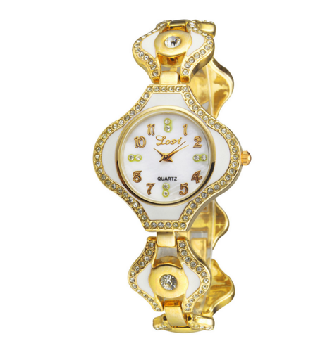 Women Watches Rhinestone Wristwatches Elegant Casual