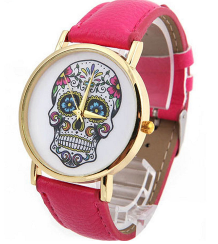 Cool Skull Skeleton Wrist Watch