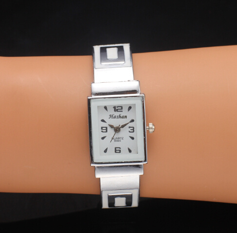 Luxury Brand Silver Bangle Watches