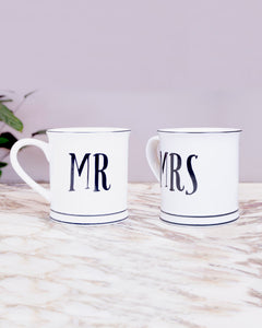 MR & MRS - Pack de 2 tazas