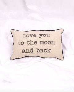 MOON - Cojín love to the moon and back