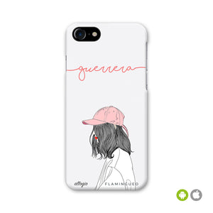 FUNDA GUERRERA - disponible para iPhone y Android - Flamingueo