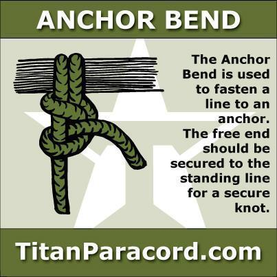 Anchor Bend Knot