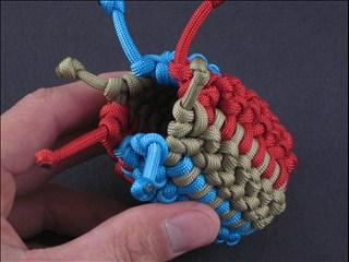 Dragon Egg Paracord Pouch