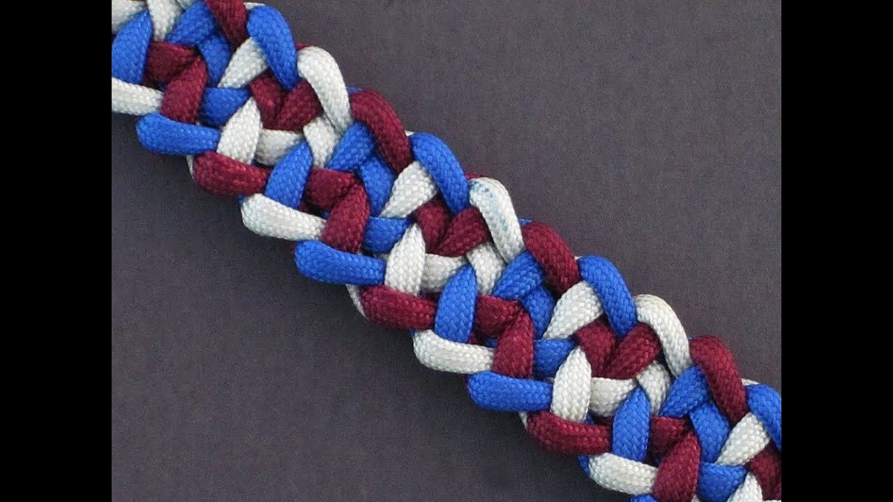 Jagged Cacophony Paracord Bracelet