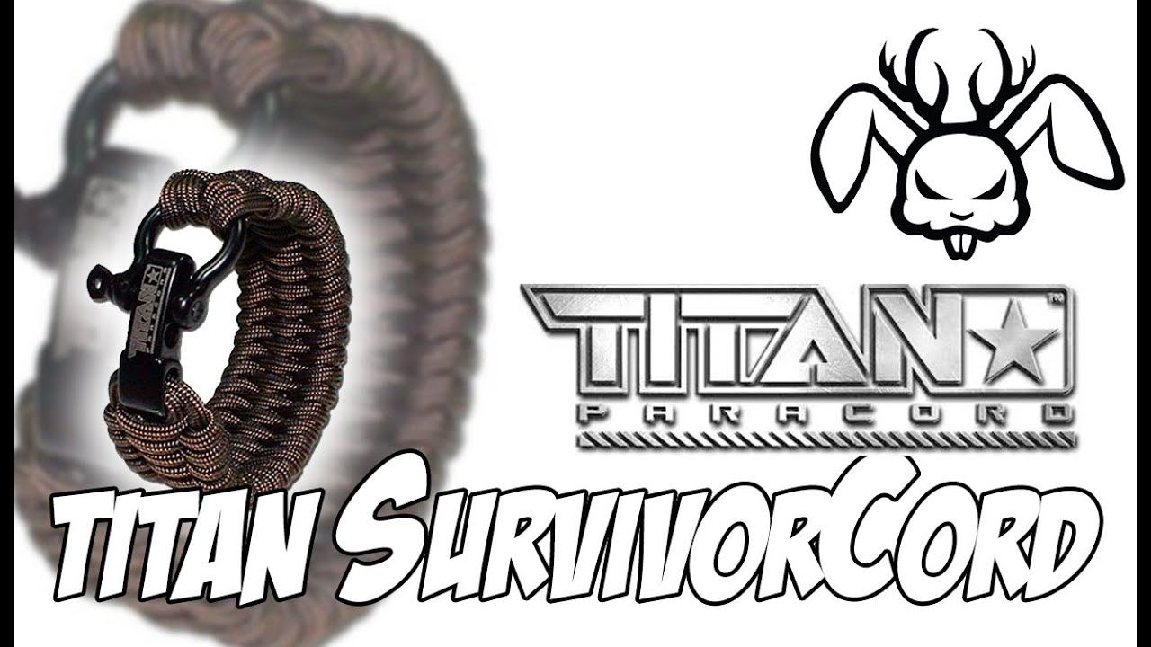 Titan Paracord Bracelet Review by Robert Ricks