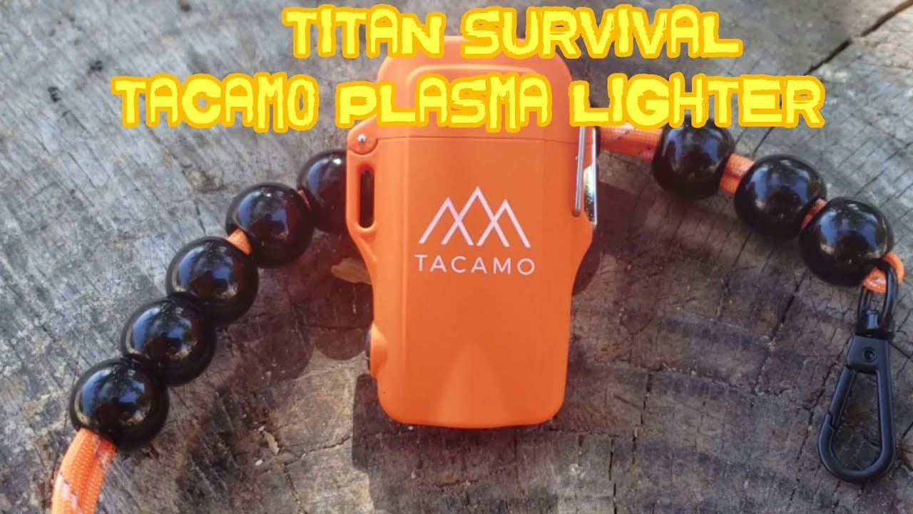 TITAN Survival TACAMO Plasma ARC Lighter Review