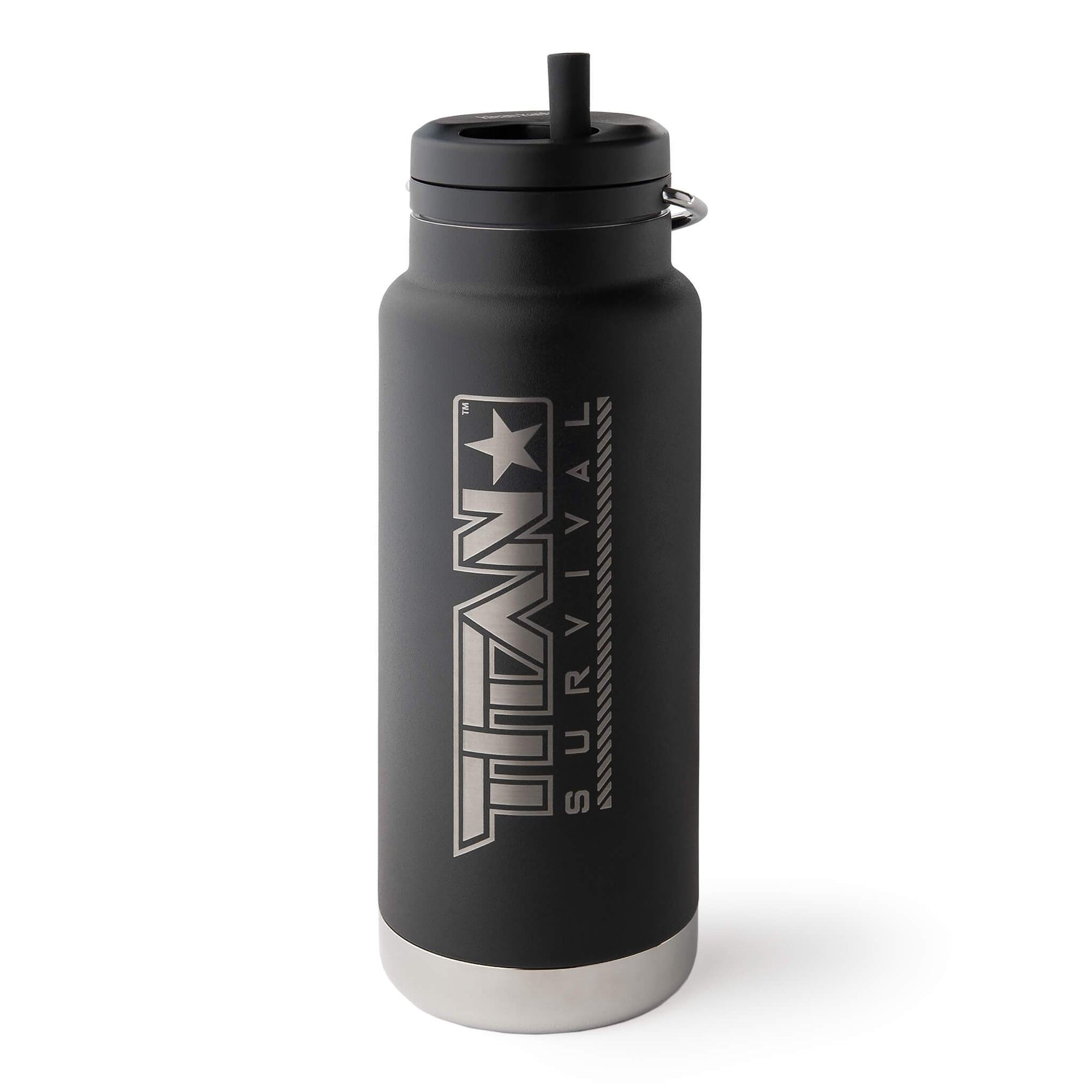 32 Oz Wide Mouth Water Bottle Container TITAN Survival