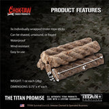 CHOKTAW Waxed Jute Rope Features