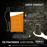 Emergency Sleeping Bag, DARK-EARTH Survival Blankets TITAN Survival