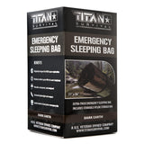 Emergency Sleeping Bag, DARK-EARTH Survival Blankets TITAN Survival Default Title