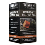 Emergency Sleeping Bag, SAFETY-ORANGE Survival Blankets TITAN Survival Default Title