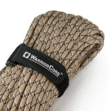 MIL-SPEC WarriorCord | DESERT CAMO, 100 FEET WarriorCord Titan Survival