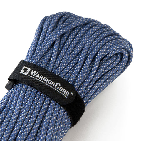 MIL-SPEC WarriorCord | DIGITAL BLUE, 100 FEET WarriorCord Titan Survival