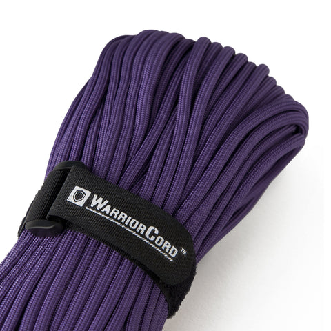 MIL-SPEC WarriorCord | PURPLE, 100 FEET WarriorCord Titan Survival