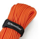 MIL-SPEC WarriorCord | SAFETY-ORANGE, 100 FEET WarriorCord Titan Survival