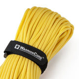 MIL-SPEC WarriorCord | YELLOW, 100 FEET WarriorCord Titan Survival