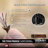 SurvivorCord 2-Point Sling for Rifles, Shotguns, and Crossbows. Accessories TITAN Survival