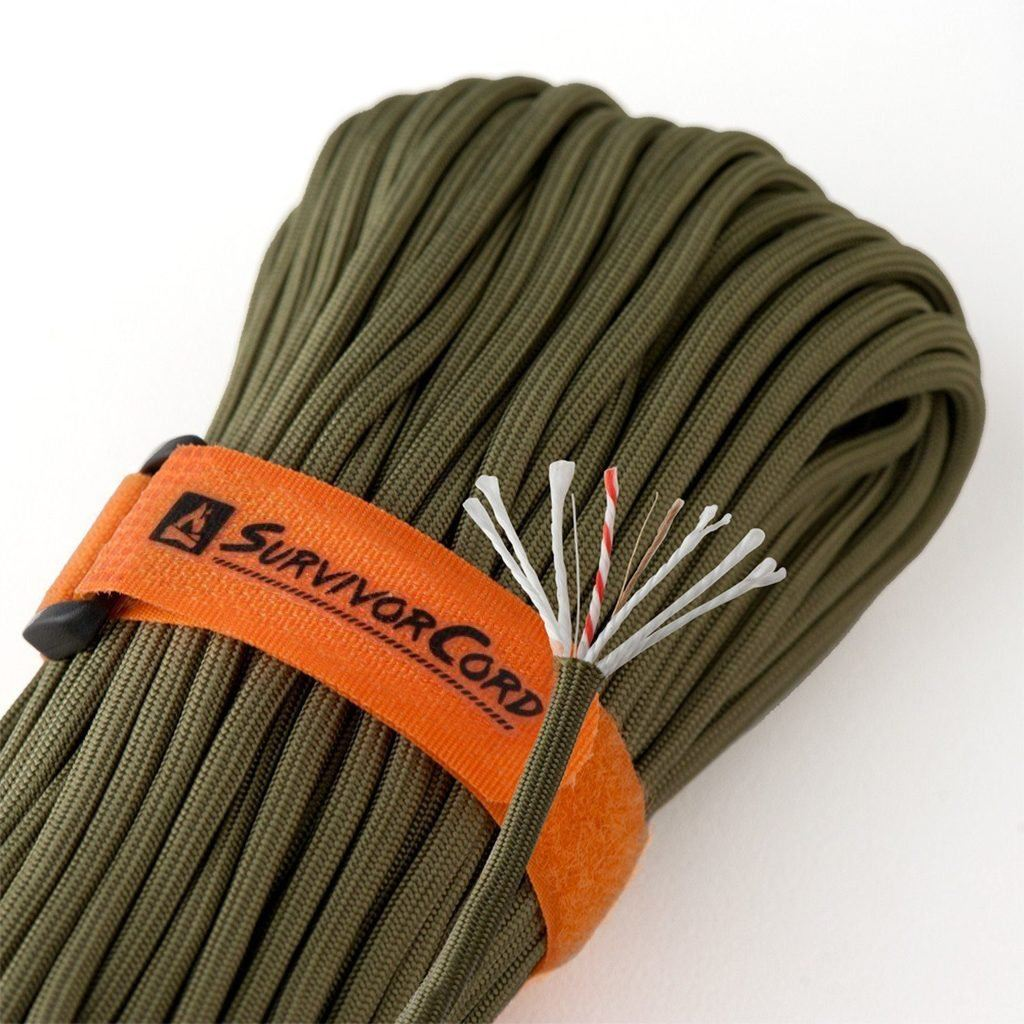 SurvivorCord | OLIVE-DRAB SurvivorCord TITAN Survival