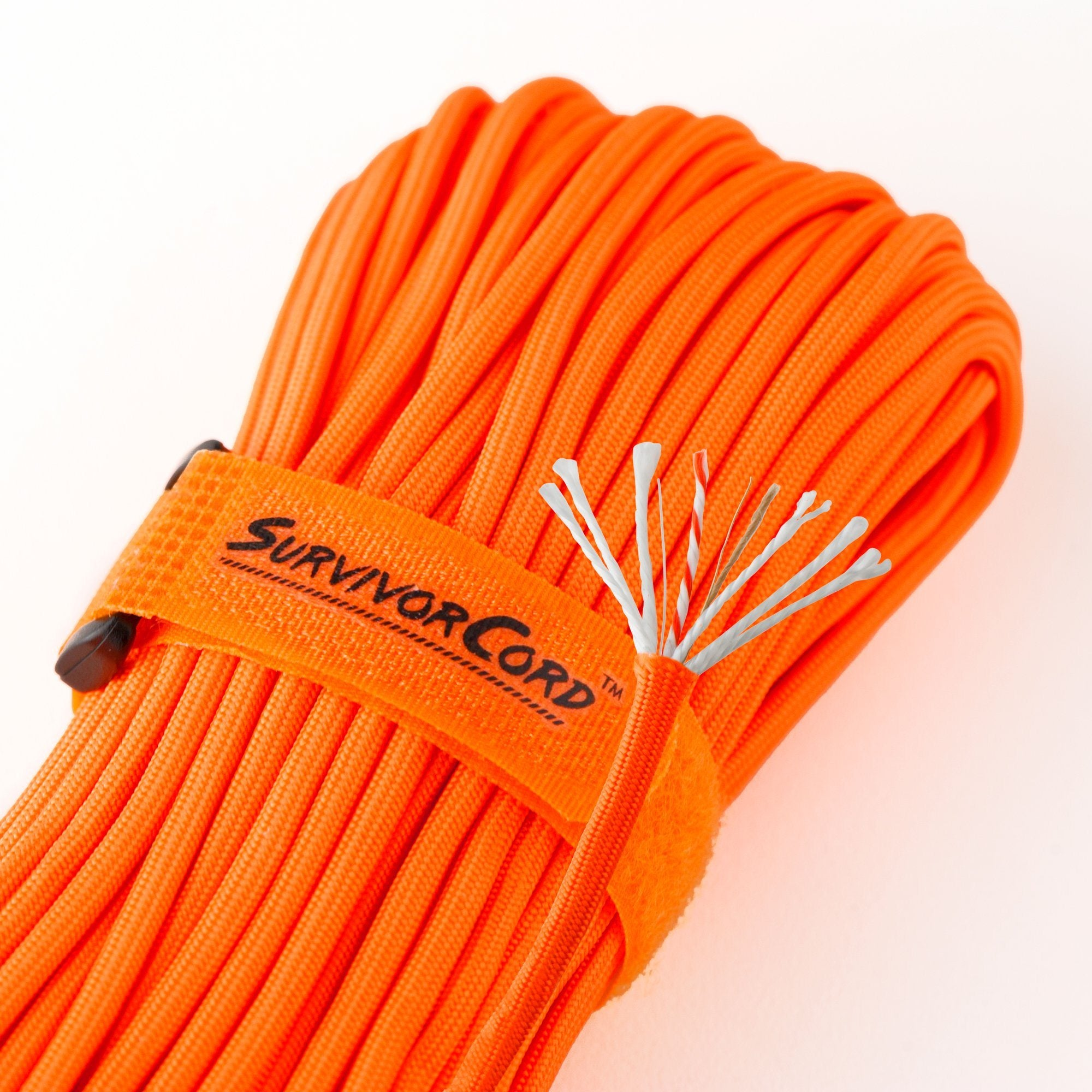 SurvivorCord | SAFETY-ORANGE SurvivorCord TITAN Survival