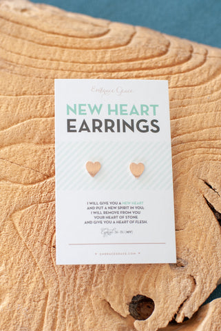 New Heart Earrings