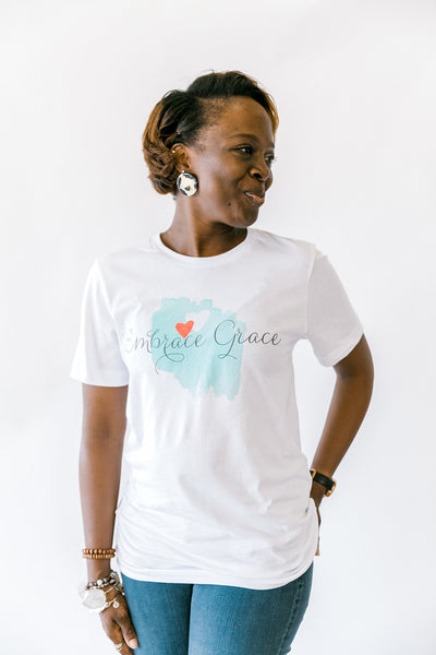 Embrace Grace Logo T-Shirt