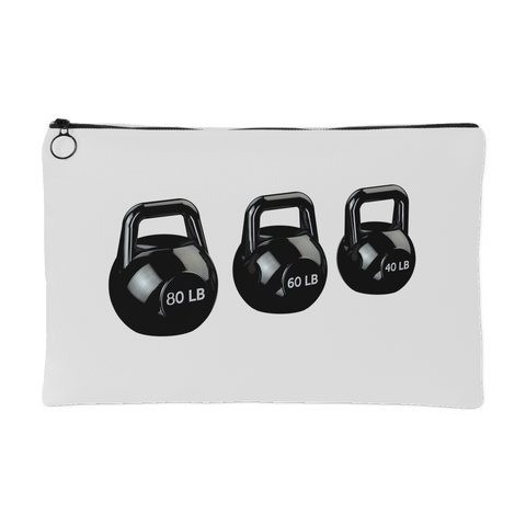 Crossfit Kettlebells Themed Accessory Bag Perfect for the Gym or Travel - Fitastic Gift Basket