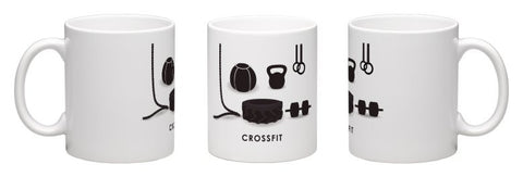 Crossfit Gym Themed Coffee Mug - Fitastic Gift Basket